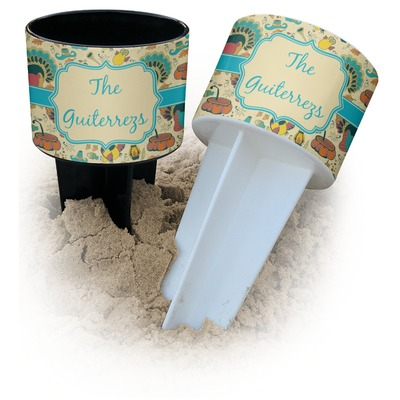 Old Fashioned Thanksgiving Beach Spiker Drink Holder (Personalized)