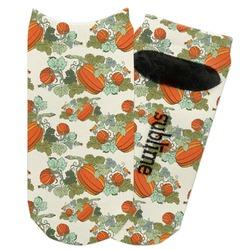 Pumpkins Adult Ankle Socks (Personalized)