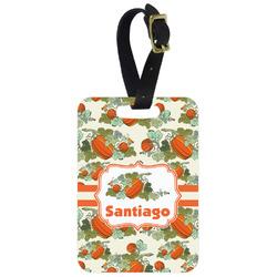 Pumpkins Aluminum Luggage Tag (Personalized)