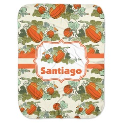 Pumpkins Baby Swaddling Blanket (Personalized)