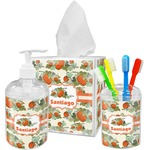 Pumpkins Bathroom Accessories Set (Personalized)