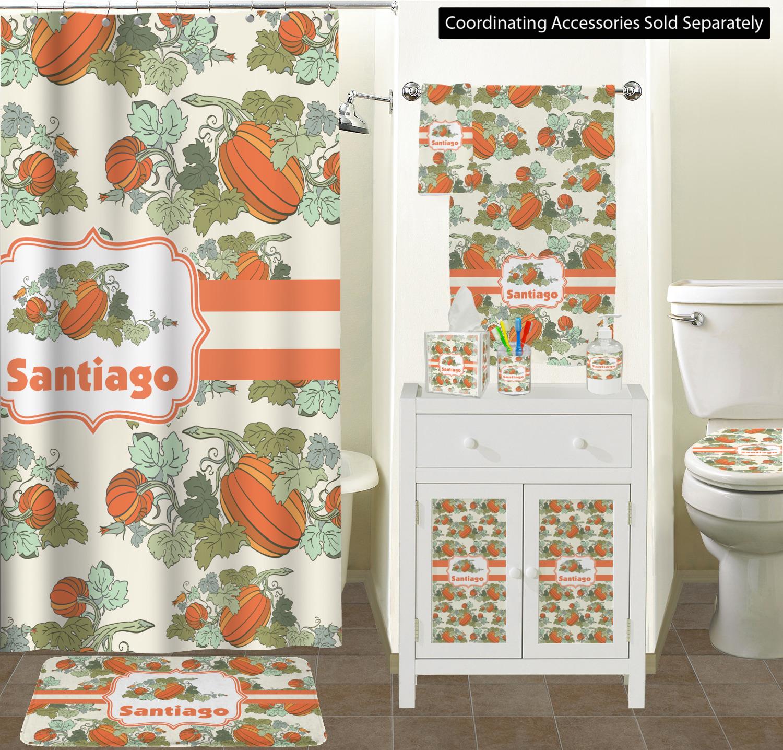 Enjoyable Pumpkins Toilet Seat Decal Personalized Lamtechconsult Wood Chair Design Ideas Lamtechconsultcom