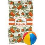 Pumpkins Beach Towel (Personalized)