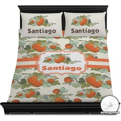 Pumpkins Duvet Cover Set (Personalized)