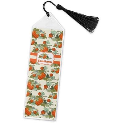 Pumpkins Book Mark w/Tassel (Personalized)