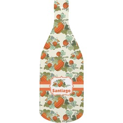 Pumpkins Bottle Shaped Cutting Board (Personalized)
