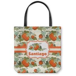 Pumpkins Canvas Tote Bag (Personalized)