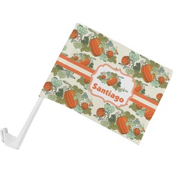Pumpkins Car Flag (Personalized)