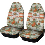 Pumpkins Car Seat Covers (Set of Two) (Personalized)