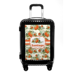 Pumpkins Carry On Hard Shell Suitcase (Personalized)
