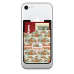 Pumpkins 2-in-1 Cell Phone Credit Card Holder & Screen Cleaner (Personalized)