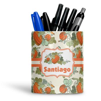 Pumpkins Ceramic Pen Holder