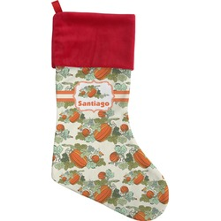 Pumpkins Christmas Stocking (Personalized)