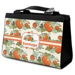 Pumpkins Classic Tote Purse w/ Leather Trim (Personalized)