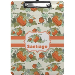 Pumpkins Clipboard (Personalized)