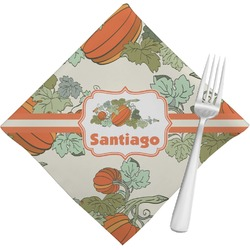Pumpkins Napkins (Set of 4) (Personalized)