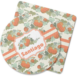 Pumpkins Rubber Backed Coaster (Personalized)