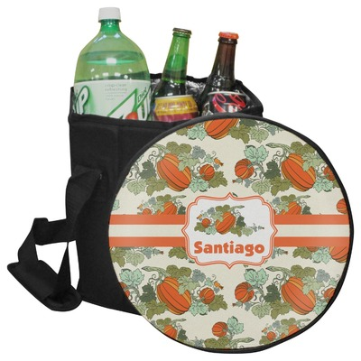 Pumpkins Collapsible Cooler & Seat (Personalized)