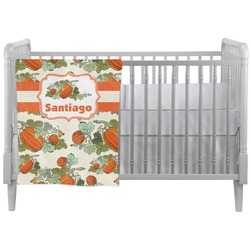 Pumpkins Crib Comforter / Quilt (Personalized)