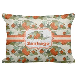 "Pumpkins Decorative Baby Pillowcase - 16""x12"" (Personalized)"