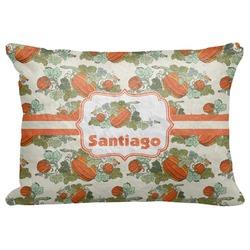 "Pumpkins Decorative Baby Pillowcase - 16""x12"" (Personalized)"