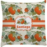 Pumpkins Decorative Pillow Case (Personalized)