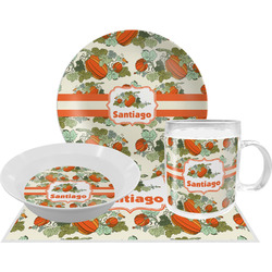 Pumpkins Dinner Set - 4 Pc (Personalized)