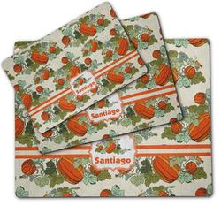 Pumpkins Dog Food Mat w/ Name or Text
