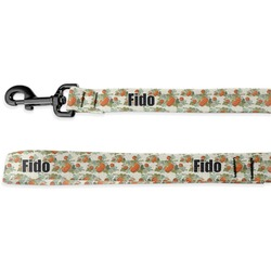 Pumpkins Deluxe Dog Leash (Personalized)