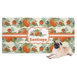 Pumpkins Pet Towel (Personalized)
