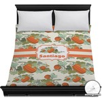 Pumpkins Duvet Cover (Personalized)