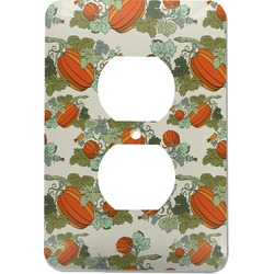 Pumpkins Electric Outlet Plate (Personalized)