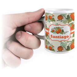 Pumpkins Espresso Mug - 3 oz (Personalized)
