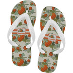 Pumpkins Flip Flops (Personalized)
