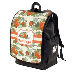 Pumpkins Backpack w/ Front Flap  (Personalized)