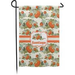Pumpkins Garden Flags With Pole - Single or Double Sided (Personalized)