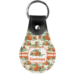 Pumpkins Genuine Leather  Keychains (Personalized)