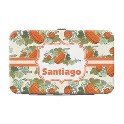 Pumpkins Genuine Leather Small Framed Wallet (Personalized)