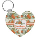Pumpkins Heart Keychain (Personalized)