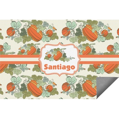 Pumpkins Indoor / Outdoor Rug (Personalized)