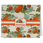 Pumpkins Kitchen Towel - Full Print (Personalized)