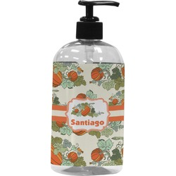 Pumpkins Plastic Soap / Lotion Dispenser (Personalized)