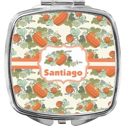 Pumpkins Compact Makeup Mirror (Personalized)