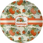 Pumpkins Melamine Plate (Personalized)