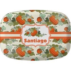 Pumpkins Melamine Platter (Personalized)
