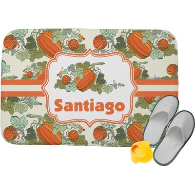 Pumpkins Memory Foam Bath Mat (Personalized)