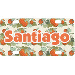 Pumpkins Mini / Bicycle License Plate (Personalized)