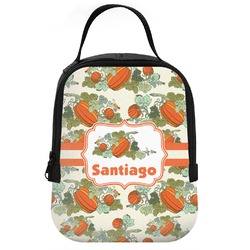 Pumpkins Neoprene Lunch Tote (Personalized)