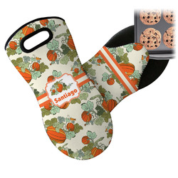 Pumpkins Neoprene Oven Mitt (Personalized)