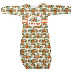 Pumpkins Newborn Gown (Personalized)